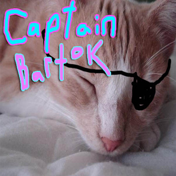 CAPTAIN BARTOK – THE CAPTAIN BARTOK EP (2010)